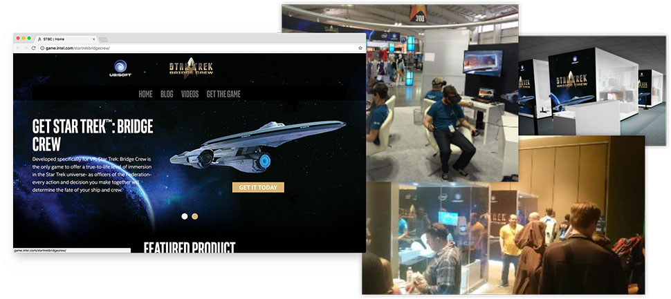 Star Trek Bridge Crew VR integrated marketing