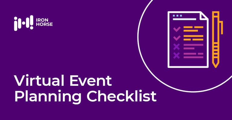 Virtual Event Planning Checklist
