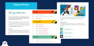 Virtual Event Gamification Idea